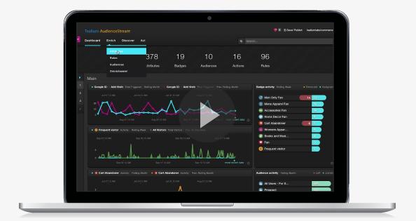 AudienceStream | Maßnahmenlösung für Echtzeitdaten | Tealium 02.22.2017 13-45-10