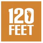120 Feet Logo