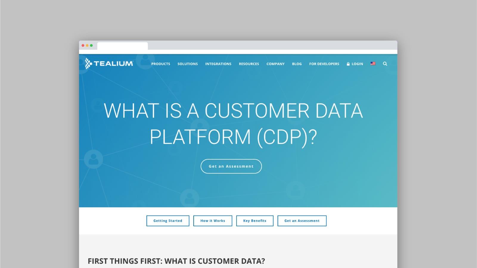 What Is a Customer Data Platform CDP - Tealium