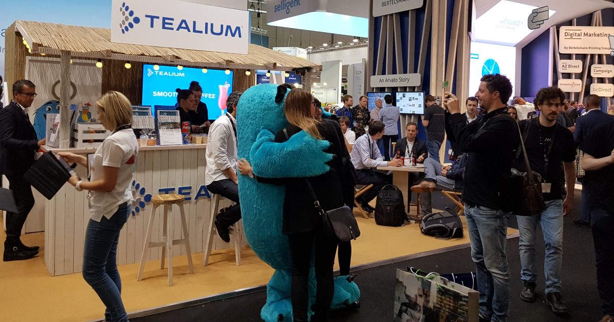 Tealium Tamed the Data Beast at dmexco 2017