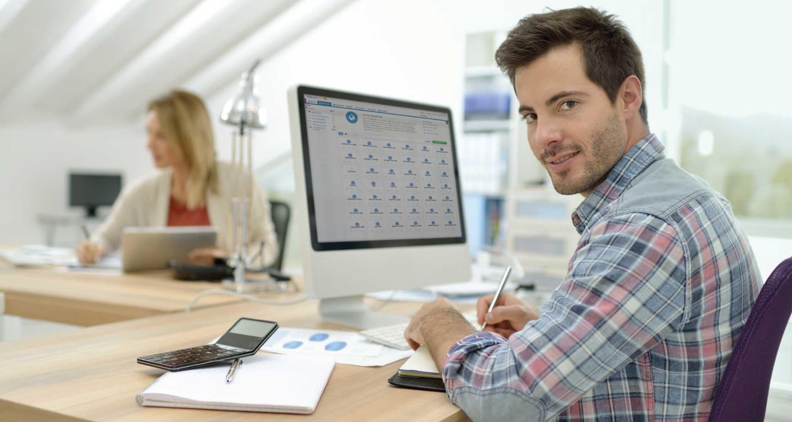 Digital marketer using Tealium iQ