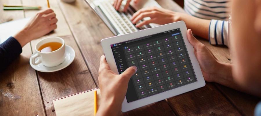 Tealium AudienceStream on a tablet