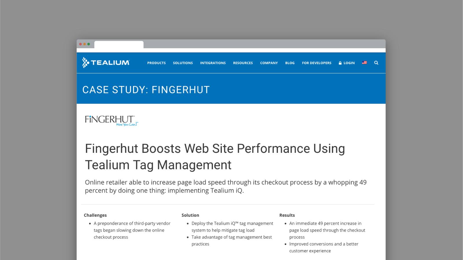 Tag Management System - Tealium IQ Enterprise Solutions
