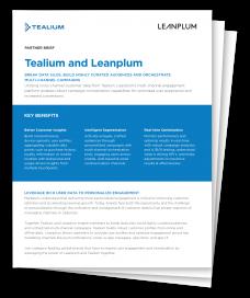 Tealium+Leanplum partner brief