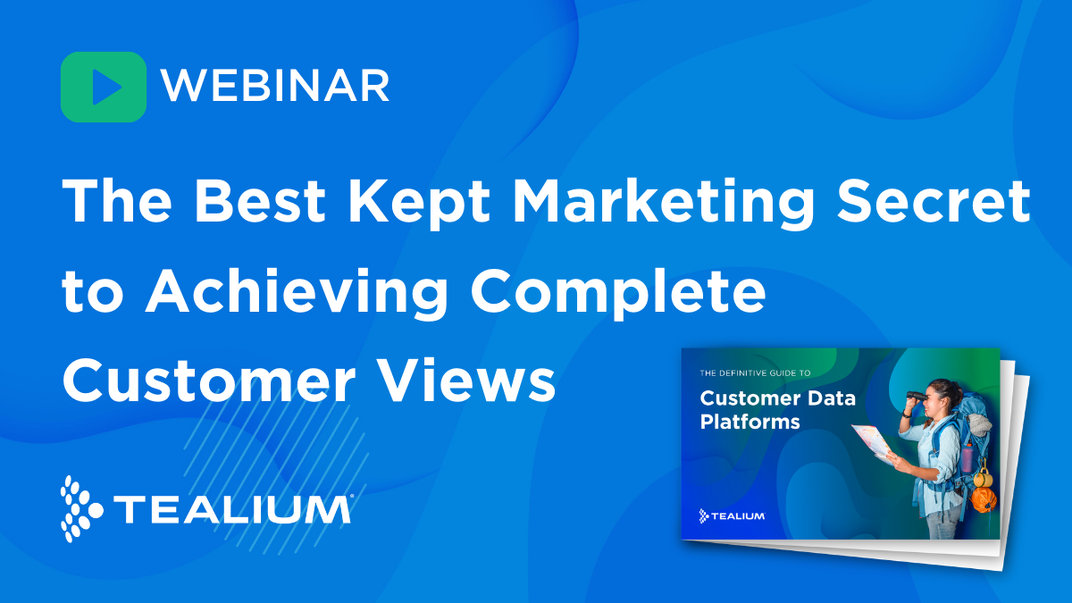 Achieving Complete Customer Views Video