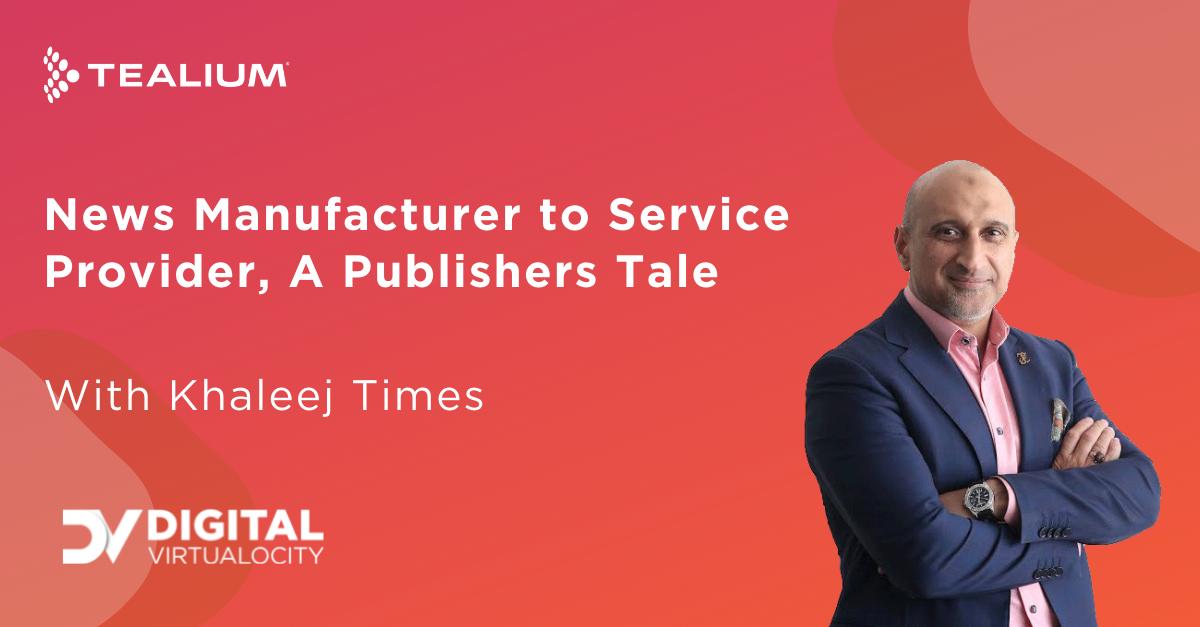 Tealium News Manufacturer to Service Provider