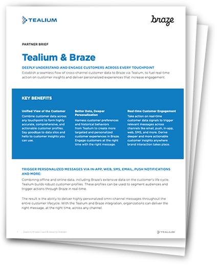Braze + Tealium